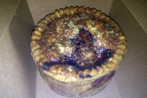 mushroom and kale royal pie from Pleasant House Bakery